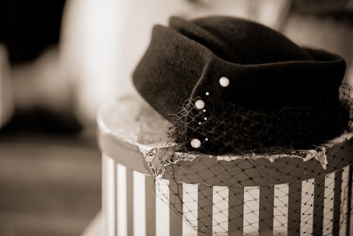 wedding hat by O'lover